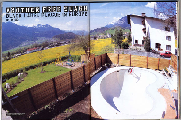 thrasher magazine private bowl